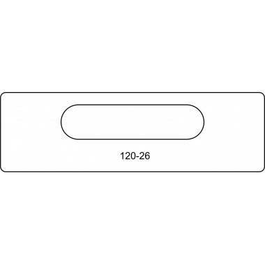 скрытая петля 120-26 Kubica 7000
