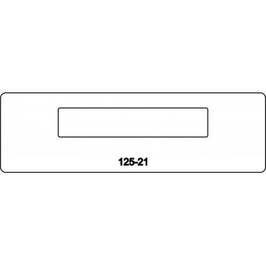 лицевая часть замка 125-21