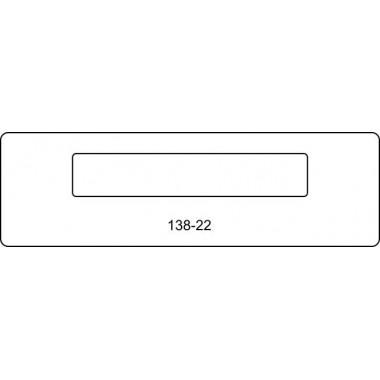Лицевая часть замка 138-22