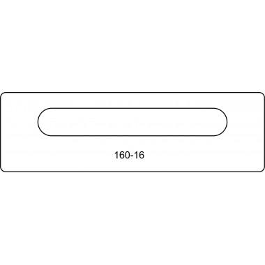 Лицевая часть замк купе 160-16