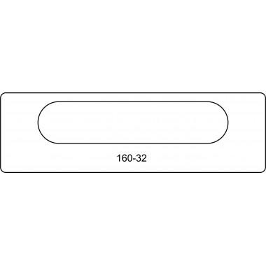 Скрытая петля 160-32 Ceam
