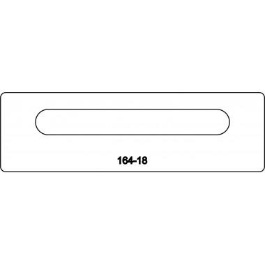 Лицевая часть замка 164-18R
