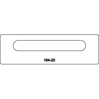 Лицевая часть замка 164-20R
