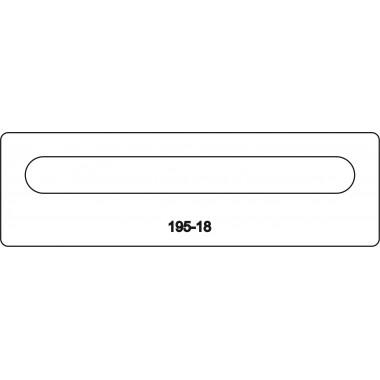 Лицевая часть замка 195-18R