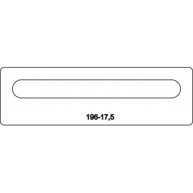 Лицевая часть замка 196-17,5R