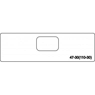 Тело скрытой петли morelli 110-30 (47-30)