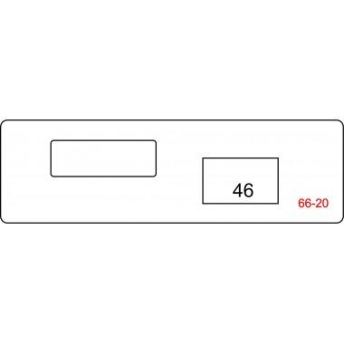Ответная планка 66-20