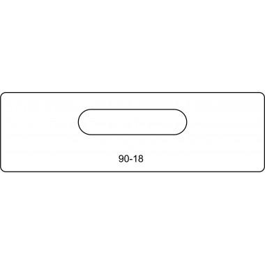 Ответная планки замка купе 90-18