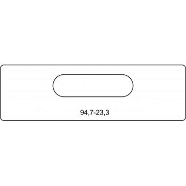 Скрытая петля 94,7-23,3 Армадилло,Kubica 6200