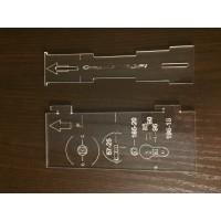 Шаблон для разметки дверных ручек
